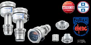Flush-mounted Pressure Transmitter and Switch PiezoSwitchPS Type