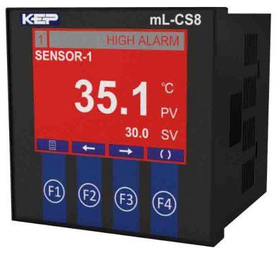 KEPmeter mL-CS8 Temperature Logging 8 channel