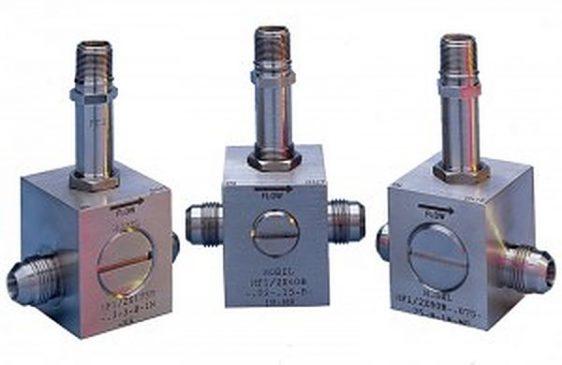 Hoffer Flow Control MF Series Turbine Flow Meters for Liquids