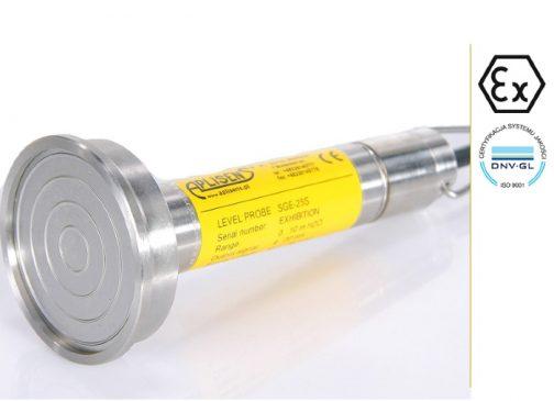 Hydrostatic level probe SGE-25/HASTELLOY