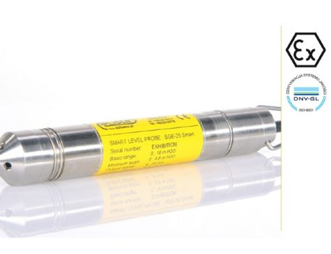 Hydrostatic Level Probes SGE-25 and SGE-16