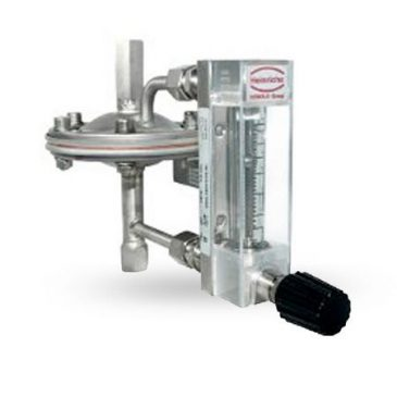 Model K09-R Low Volume - variable area - with glass tube