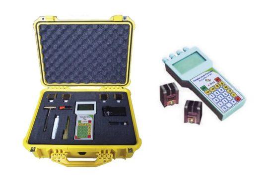 Portable Ultrasonic Liquid Flow Meter Energoflow LF-2P2